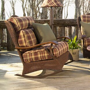 Woodard Chatham Large Rocking Chair with Cushions