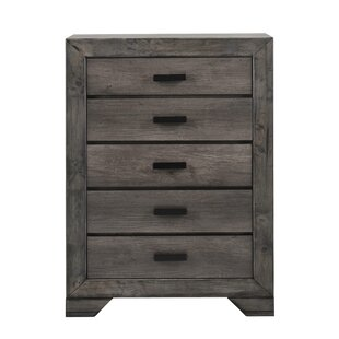 Union Rustic Boose Rustin 5 Drawer Chest