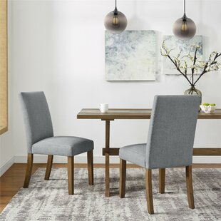 Veazey Upholstered Dining Chair (Set of 2) Gracie Oaks