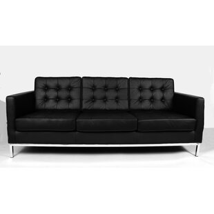 Compare & Buy Draper Leather Sofa By dCOR design