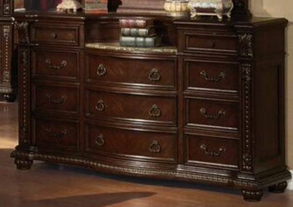 Marble Top Dresser Wayfair