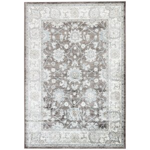 Vika Blue/Brown Area Rug