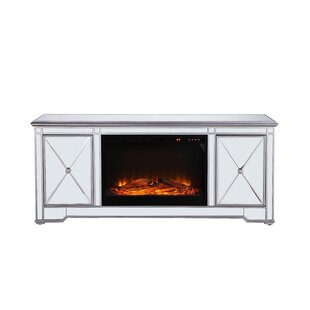 Sariah TV Stand for TVs up to 60 with Fireplace by House of Hampton