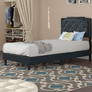 Edna Upholstered Panel Bed by Zoomie Kids