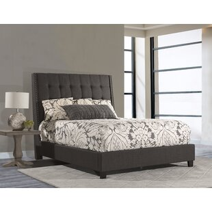Overbay Linen Upholstered Panel Bed