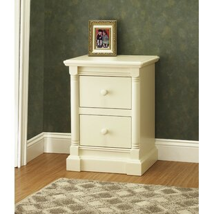 Imperial 2 Drawer Nightstand by Orbelle Trading
