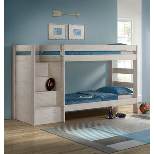 Bahr Twin Over Twin Staircase Bunk Bed by Isabelle amp Max