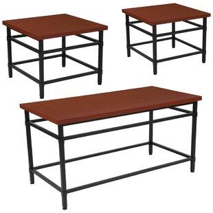Gehrmann 3 Piece Coffee Table Set Winston Porter Great Reviews