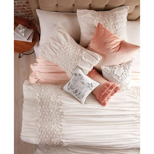 Sanger Triangle Smocked Comforter Set by Ophelia & Co.