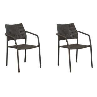 Mask Stacking Garden Chair (Set Of 2) By Sol 72 Outdoor