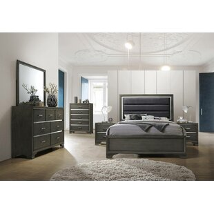 Jarosz Queen Panel 6 Piece Bedroom Set