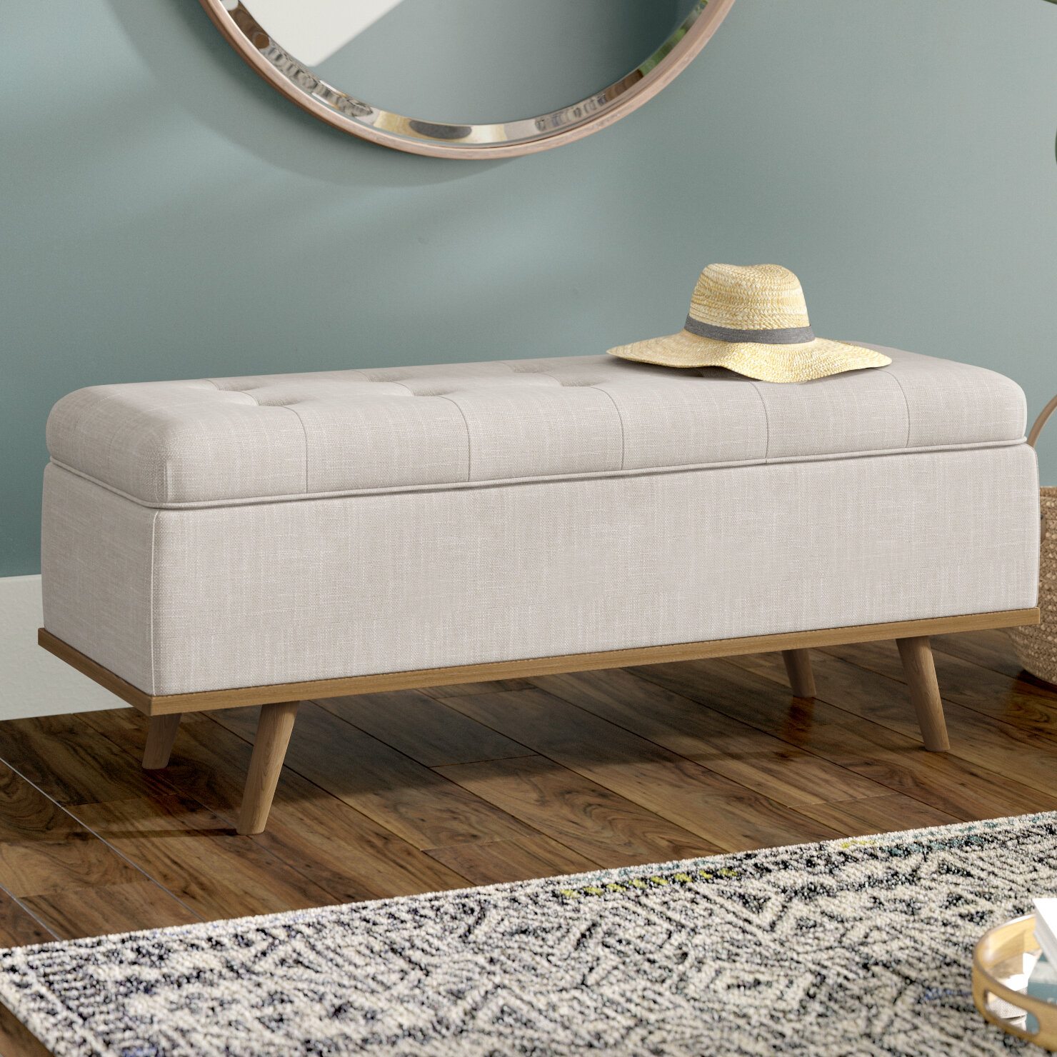 Awesome Valerio Upholstered Storage Bench Pdpeps Interior Chair Design Pdpepsorg