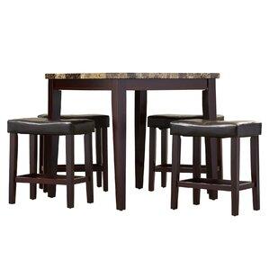 Arline 5 Piece Pub Table Set