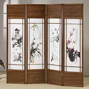 Shafter Shoji 4 Panel Room Divider & Shoji Door | Wayfair