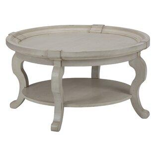 Fleur De Lis Living Dayse Mid-Century Wooden Coffee Table
