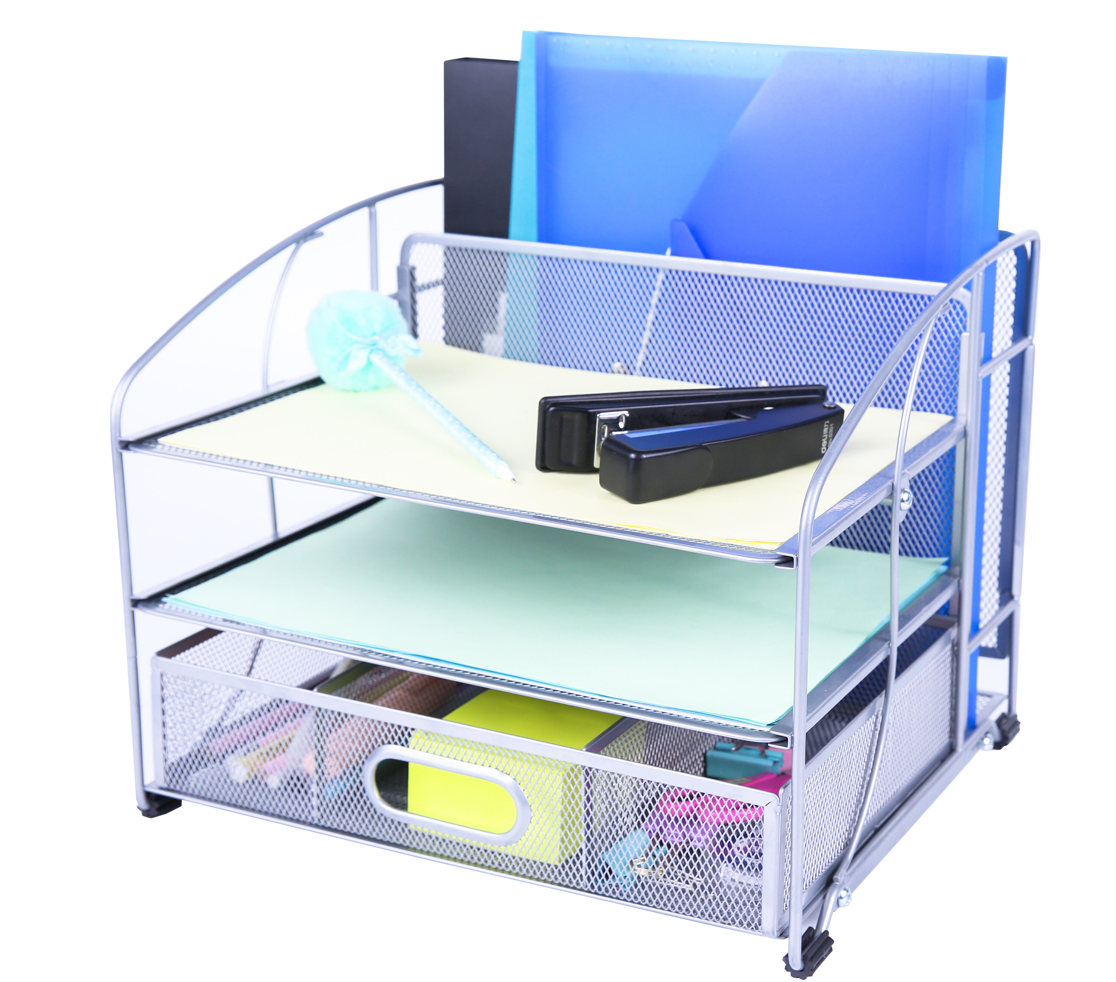 Saver Wire Mesh File Organizer