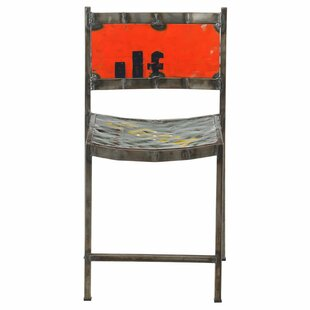 Travis Recycled Oil Drum Dining Chair Williston Forge