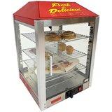 Two Door Warmer/Merchandiser Countertop Pizza Oven 120V 450W