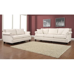 Eawood 2 Piece Living Room Set by Alcott Hill