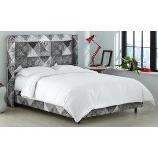 Brayden Studio Sumpter Upholstered Panel Bed
