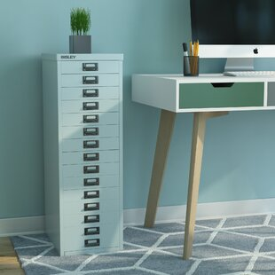 39er 15 Drawer Vertical File By Bisley