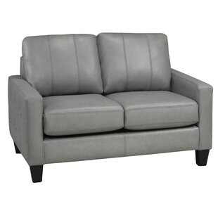 Eilish Genuine Leather Loveseat
