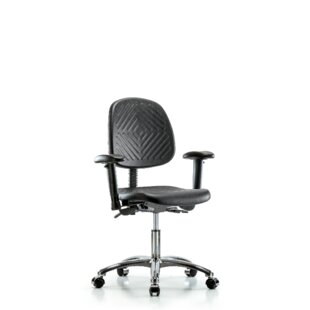 Best Price Everly Desk Height Ergonomic Office Chair by Symple Stuff