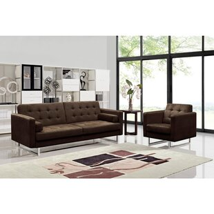 Reba Sleeper 2 Piece Living Room Set by Orren Ellis