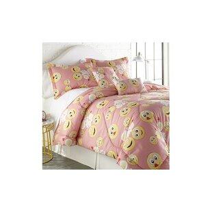 Bannan Emoji Comforter Set