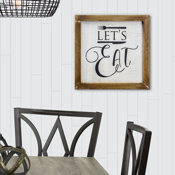 Rustic Kitchen Decor Vertical Eat Large