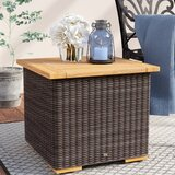 New Boston Solid Wood Side Table