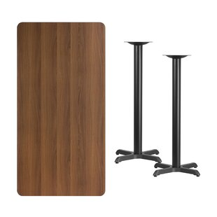Mazon Rectangular Laminate Pub Table by Winston Porter