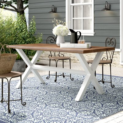 Larracey Solid Wood Dining Table by Gracie Oaks 2020 Sale