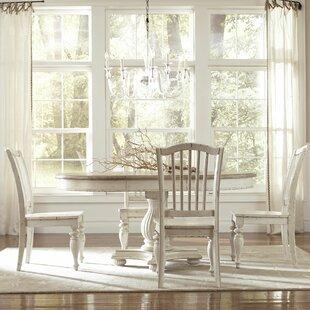 Lark Manor Quevillon 5 Piece Wood Dining Set