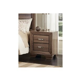 Comparison Larabee 2 Drawers Nightstand by Gracie Oaks
