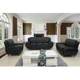 Nataly 3 Piece Standard Living Room Set by Orren Ellis