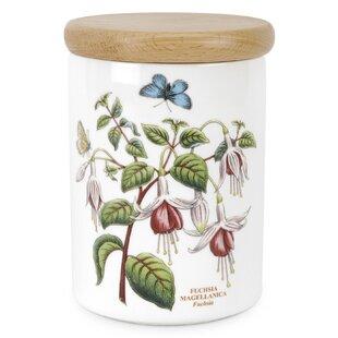 Botanic Garden Fuchsia Kitchen Canister
