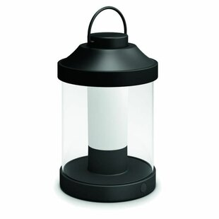Philips Black Plug-In LED Outdoor Lantern By Philips