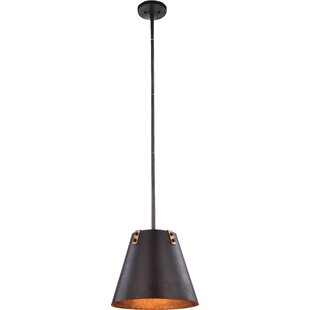 17 Stories Fayme 1-Light Cone Pendant