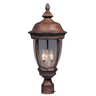 Anneliese Outdoor 3-Light Hardwired Lantern Head by Darby Home Co