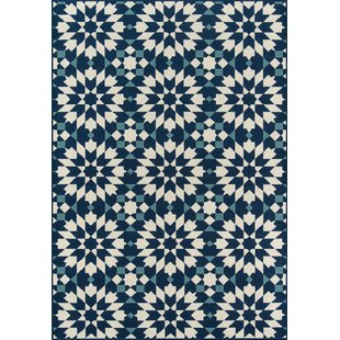 Imogene Navy Indoor/Outdoor Area Rug