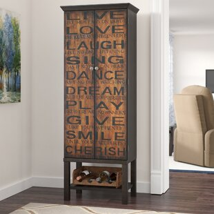 Red Barrel Studio Firefly Hollow Bar Cabinet with Wine Storage