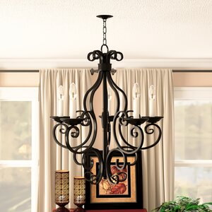 Amelia 5-Light Shaded Chandelier