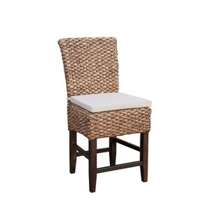 Tamayo Seagrass Counter Dining Chair (Set of 2) by Bayou Breeze