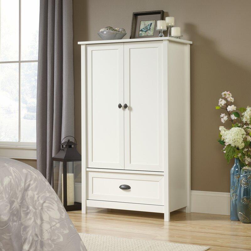Clothing Armoires & Wardrobe Closets You\'ll Love | Wayfair
