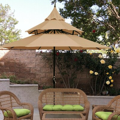 Iyanna 9 Market Umbrella by Andover Mills Today Only Sale