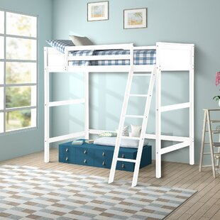 Buy clear Alicea Twin Loft Bed By Harriet Bee