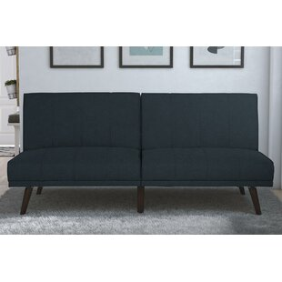 Review Buttrey Convertible Sofa by Mercury Row