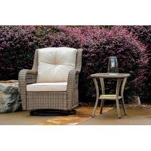 Dawn 2 Piece Glider Chair Set with Cushions