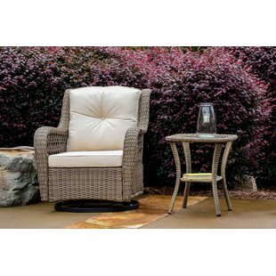 Dawn 2 Piece Glider Chair Set with Cushions by Highland Dunes